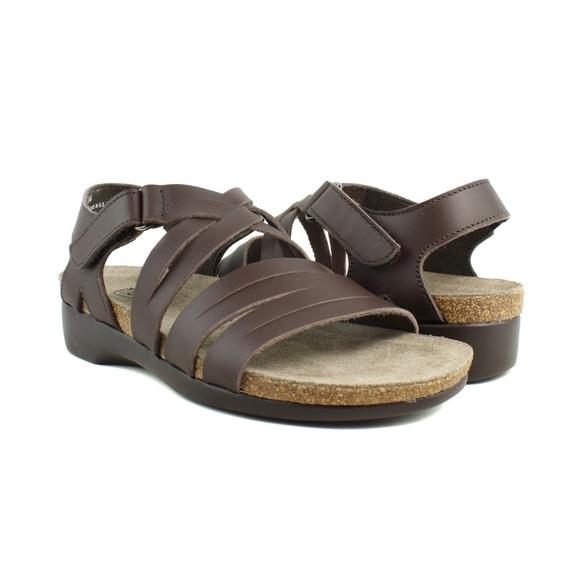 a479dd183ce Munro Kaya Cork Comfort Walking Wedge Sandal 40